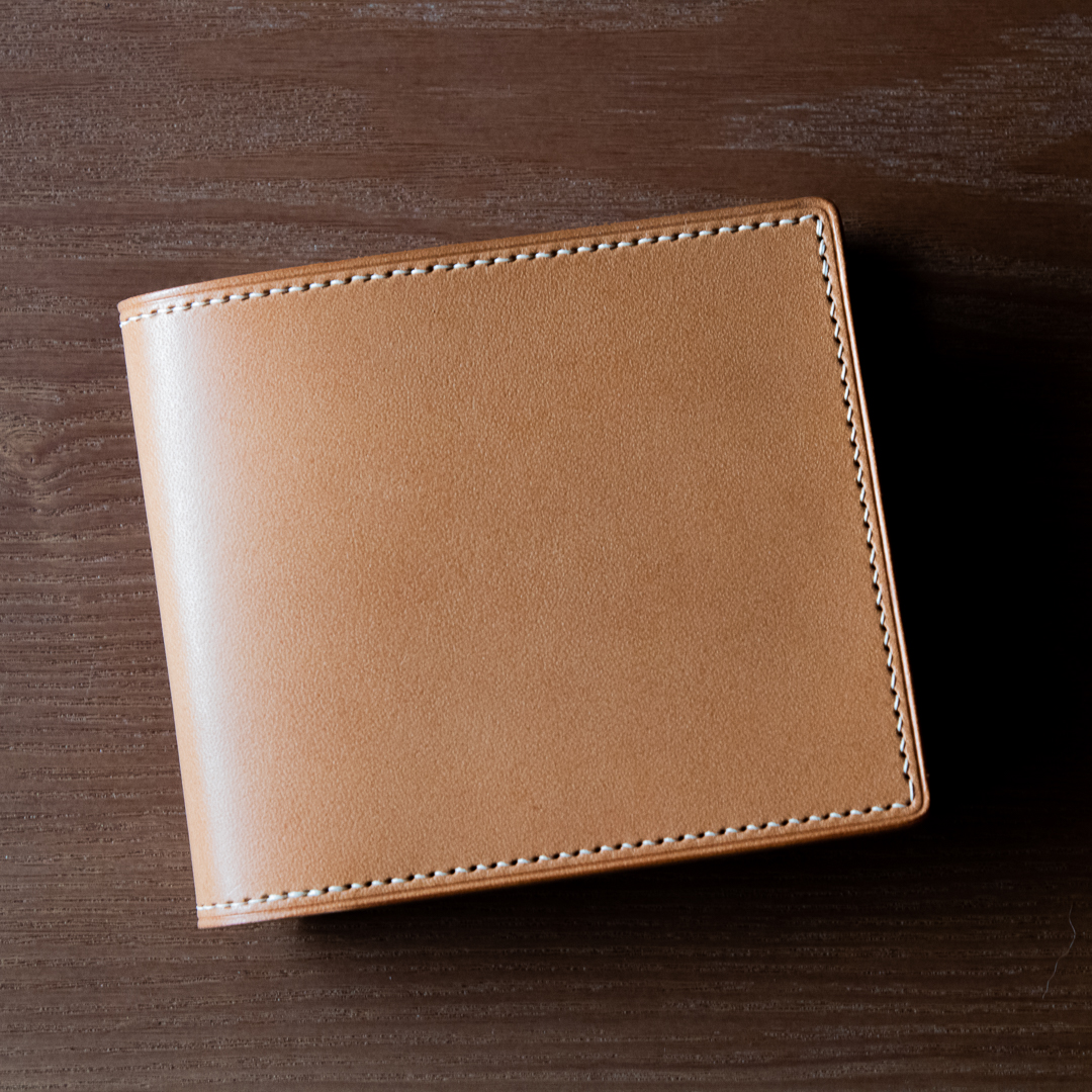 手工短夾 bifold wallet Buttero