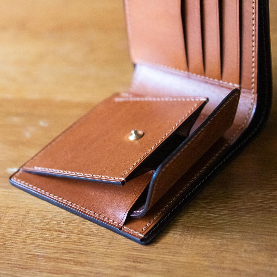 訂製手工皮夾 bifold wallet Buttero